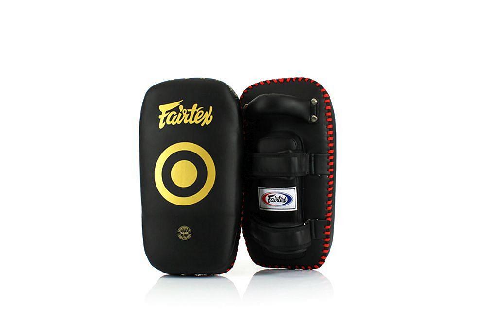 Fairtex Gold Lightweight Muay Thai Boxing Kick Pads KPLC5