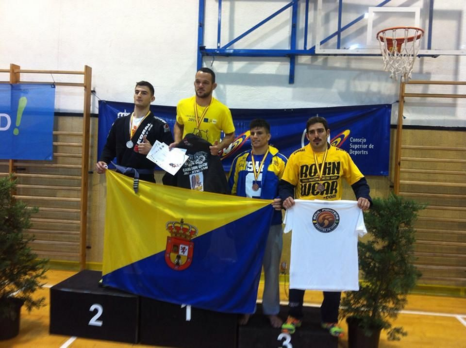 Jose Ferreira gets bronze medal in Spain's Grappling Championship 2014