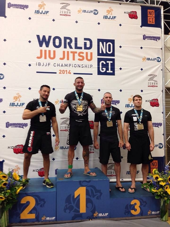 Tito Beltran IBJJF No-Gi World champion in black belt
