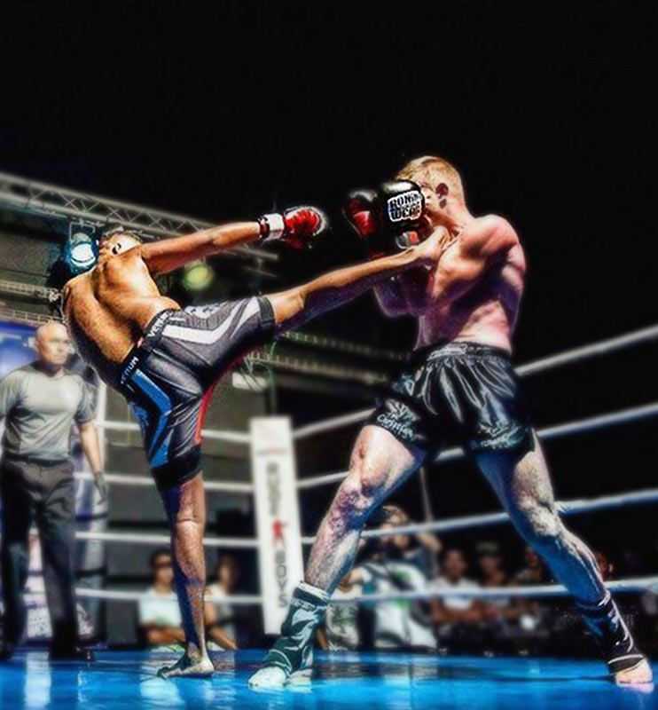 David Er Ramy som vann på Rebel Pride Fight Night matchen