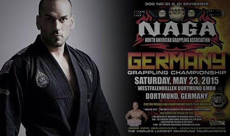 Ruben Gracia at the NAGA Grappling Championship