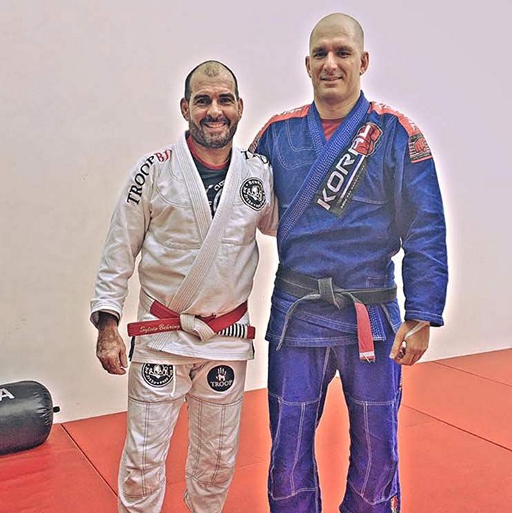 Guillermo Anguita training in the United Arab Emirates