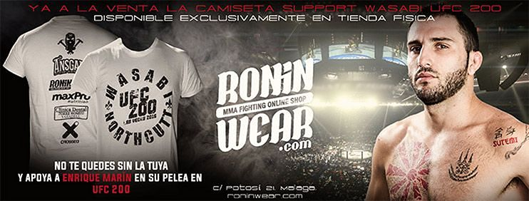 Camiseta Support Wasabi UFC 200
