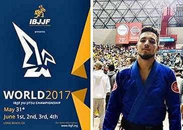 O nosso atleta patrocinado Santeri Lilius no IBJJF World Jiu Jitsu Championship 2017