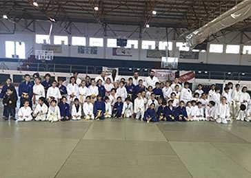 Patrocinámos o Estágio de Judo Geiko na La Línea