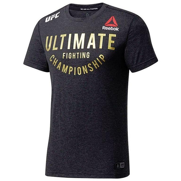 das Neueste klassische Stile suche nach dem besten Reebok UFC Fight Night Walkout Jersey Grau-Gold
